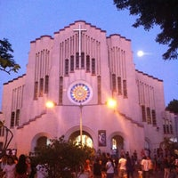 Photo taken at National Shrine of Our Mother of Perpetual Help (Redemptorist Church) by Katherine Chloe D. on 4/5/2012