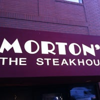 Photo taken at Morton's The Steakhouse by Dustin F. on 7/7/2012