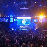 Photo taken at walmart shareholders 2012 50th by Seth M. on 6/1/2012