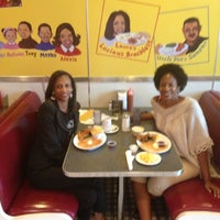 Photo taken at Home Of Chicken and Waffles by Carla M. on 7/5/2012
