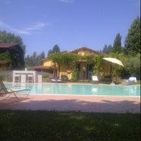 Foto scattata a Garden Resort & Spa San Crispino da giorgia v. il 6/24/2012