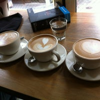 Photo taken at CAFFE CAFFE by Taejean A. on 3/2/2012