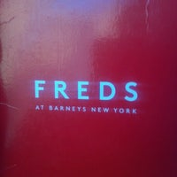Photo taken at Fred's at Barneys New York by Peggy K. on 7/1/2012