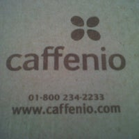 Photo taken at Caffenio by David B. on 4/26/2012