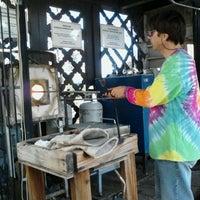 Photo taken at Spanish Village Art Center by Lindsey O. on 3/11/2012