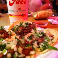 Photo taken at King Taco Restaurant by Mel V. on 4/29/2012