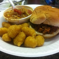 Photo taken at The Galax Smokehouse by Russell G. on 8/11/2012