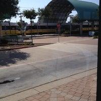 Photo taken at Parker Road Station (DART Rail) by ʎǝɔɐɹʇ ɹ. on 8/5/2012