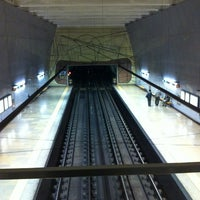 Photo taken at Metro Alfornelos [AZ] by Pedro A. on 4/17/2012
