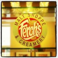 Photo taken at Ferch's Malt Shoppe & Grille by Josh on 8/31/2012
