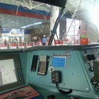 Photo taken at Aeroexpress Sheremetyevo (SVO) to Moscow by A M. on 7/19/2012