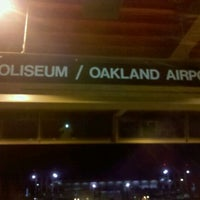 Photo taken at Coliseum BART Station by Andre B. on 3/8/2012