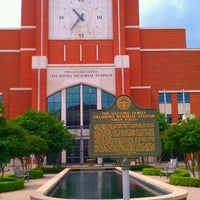 Photo taken at Gaylord Family Oklahoma Memorial Stadium by Nicole P. on 5/4/2012