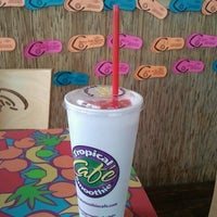 Photo taken at Tropical Smoothie Cafe by Tameka R. on 6/20/2012