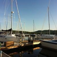 Photo taken at Willsboro Bay Marina by Johanne G. on 5/18/2012
