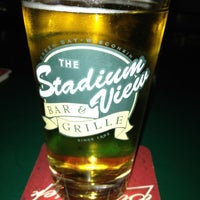 Photo taken at Stadium View Bar and Grill by Dianne on 7/27/2012