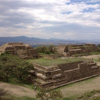 Photo taken at Monte Albán by Daniel M. on 4/6/2012