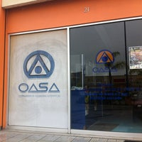 Photo taken at OASA by Juan G. on 5/25/2012