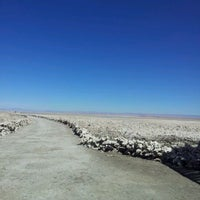 Photo taken at Salar de Atacama by Erika G. on 4/8/2012
