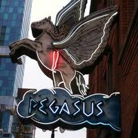 Photo taken at Pegasus Taverna by Ken H. on 5/2/2012