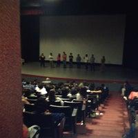 Photo taken at Cineforo Universidad by Daniela Paulette G. on 7/12/2012