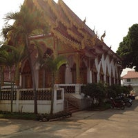 Photo taken at Wat Mueang Lang by (: abreast @OLE ! on 3/1/2012