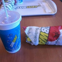 Photo taken at Subway by Bah Traicy A. on 8/24/2012
