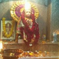 Photo taken at Sri hanuman temple by Hemanshu S. on 3/6/2012
