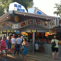 Photo taken at Blue Moon Dine-In Theater - MN State Fair by Lissa B. on 8/24/2012