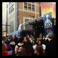 Photo taken at Super Bowl Village by Dawn D. on 2/5/2012