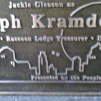 Photo taken at Ralph Kramden Statue by Rob on 2/16/2012