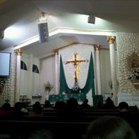 Photo taken at Igreja Nossa Senhora do Perpetuo Socorro by Allexander S. on 6/10/2012