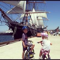 Das Foto wurde bei Maritime Museum of San Diego von Ken E. am 7/25/2012 aufgenommen