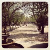 Photo taken at Parque da Alameda by Alberto on 4/1/2012