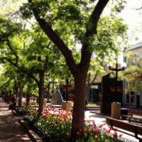 Photo taken at Pearl Street Mall by Jud V. on 4/18/2012