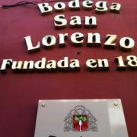 Photo taken at Bodega San Lorenzo by Montaño J. on 3/9/2012