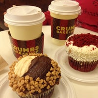 Photo taken at Crumbs Bake Shop by Eric B. on 4/6/2012
