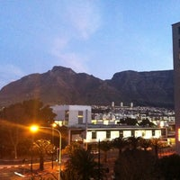 Photo taken at Fountains Hotel Cape Town by Lindsay T. on 8/20/2012