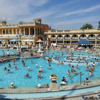 Photo taken at Széchenyi Thermal Bath by Ambrogio V. on 8/16/2012