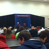 Photo taken at Rider University Bart Luedeke Center by Nicole C. on 3/27/2012