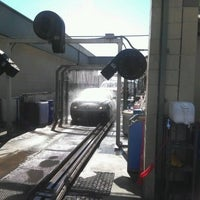 Photo taken at First Street Car Wash by Michael J. on 4/21/2012