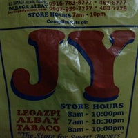 Photo taken at JY Albay Supermarket by Monch B. on 2/14/2012