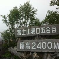 7/28/2012にAkinori K.が富士山 富士宮口 新五合目で撮った写真