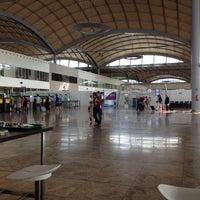 Photo taken at Alicante-Elche Airport (ALC) by Antonio R. on 9/7/2012