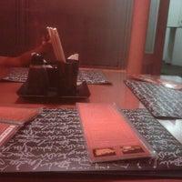 Photo taken at Mr. Miyagi Sushi Bar by Rafael T. on 7/15/2012