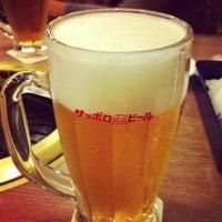 Photo taken at Chiba Beer Garden by kobaping on 8/18/2012
