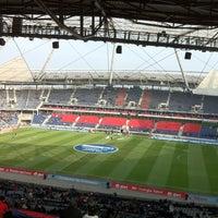 Photo taken at HDI Arena by Marat on 3/3/2012