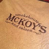 Photo taken at McKoy's Smokehouse & Saloon by Kelly on 7/27/2012