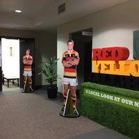 Photo taken at Waikato Stadium by tamarillo t. on 8/31/2012