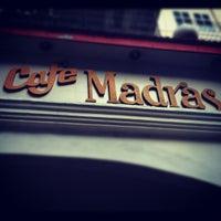 Photo taken at Café Madras by Mahalaxmi N. on 7/1/2012